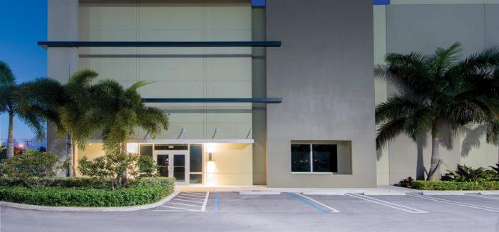 Logística del sur de Florida